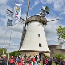 Grußwort zum 25. Deutschen Mühlentag 2018 an der Windmühle in Lechtingen