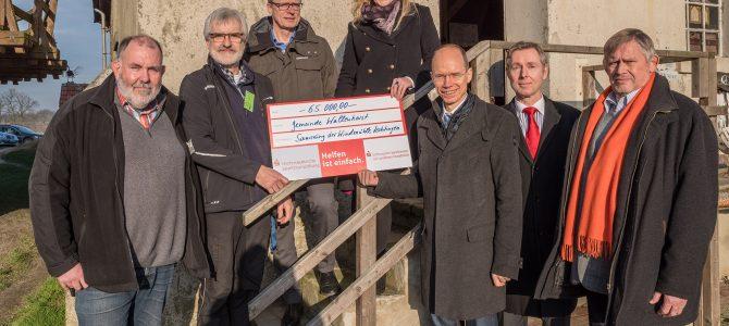 65.000 Euro für die Windmühle Lechtingen
