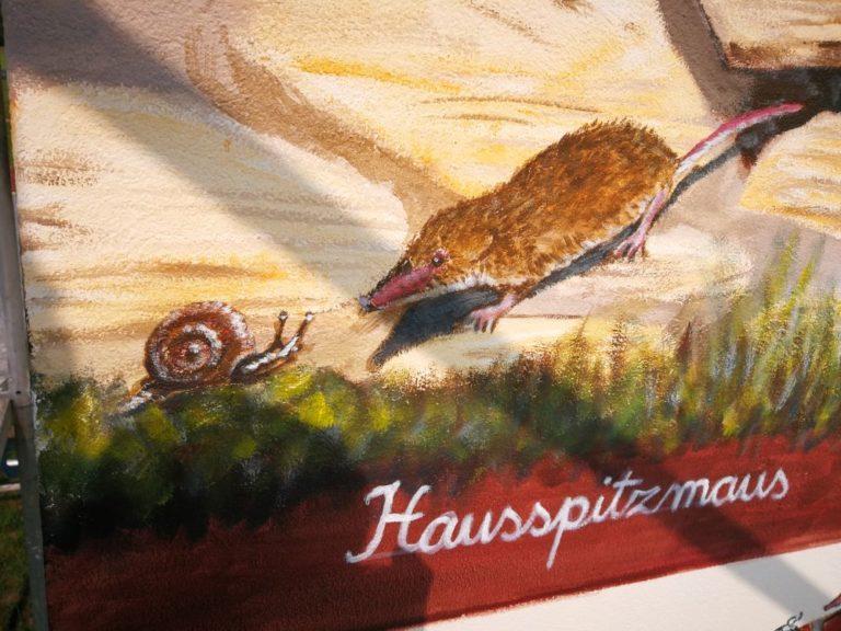 Details aus dem Gemälde